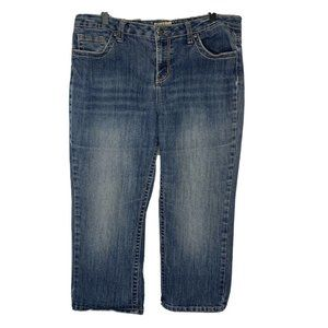 Earl Jeans Womens Blue Cropped Jeans Size 14
